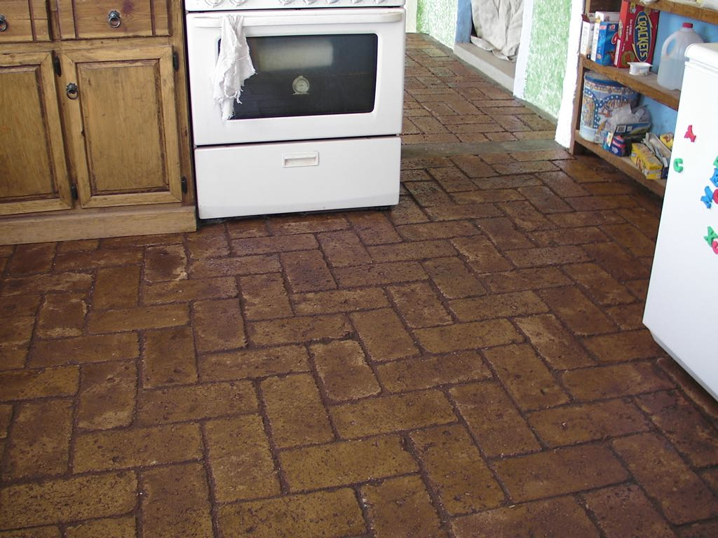 Brick flooring images how to ceb floors dailygadgetfo Images