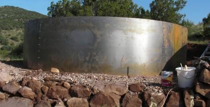 Irrigation cistern