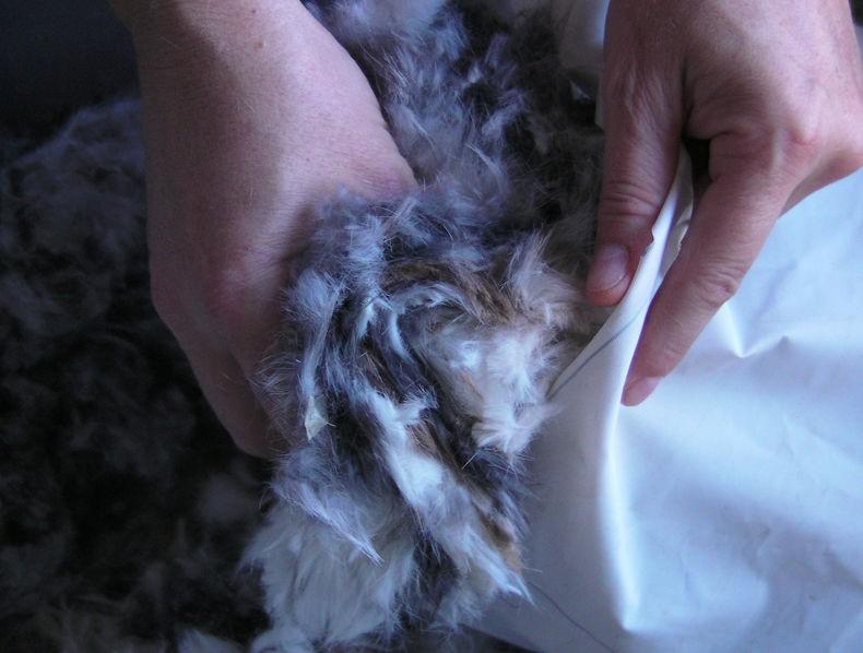 Furry Foot Warmer