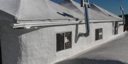 Latex Concrete Roof