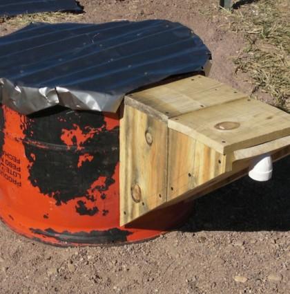 Grubage bin